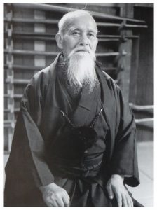 aikido-un-art-martial : MORIHEI UESHIBA