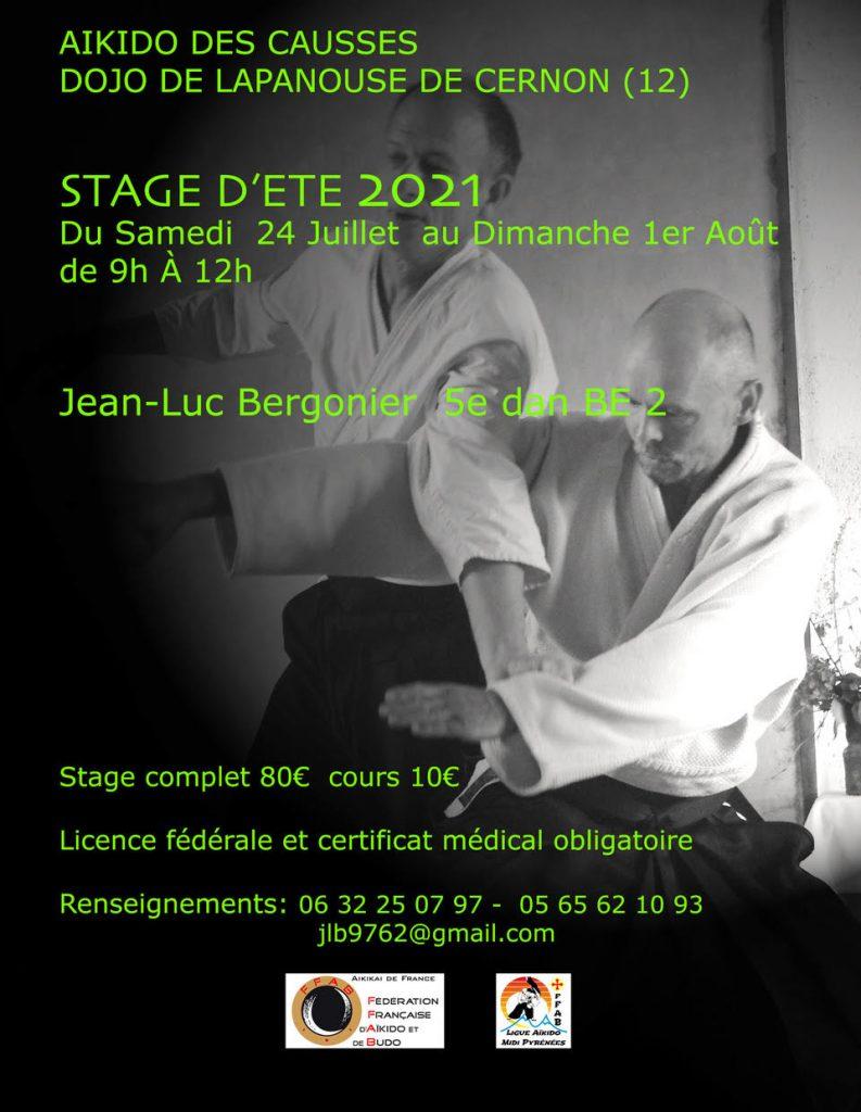 Aikido des Causses: Stage d'été 2021
