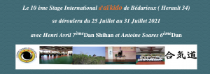 Stage d'été 2021, Aikido Bédarieux (LPC)