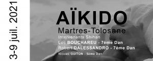 Stage d'été 2021, Aïkido Martres Tolosane (MP)