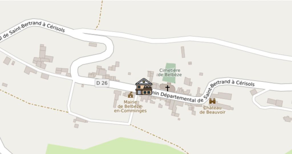 ancienne école à côte de la Mairie, Belbèze en Comminges
