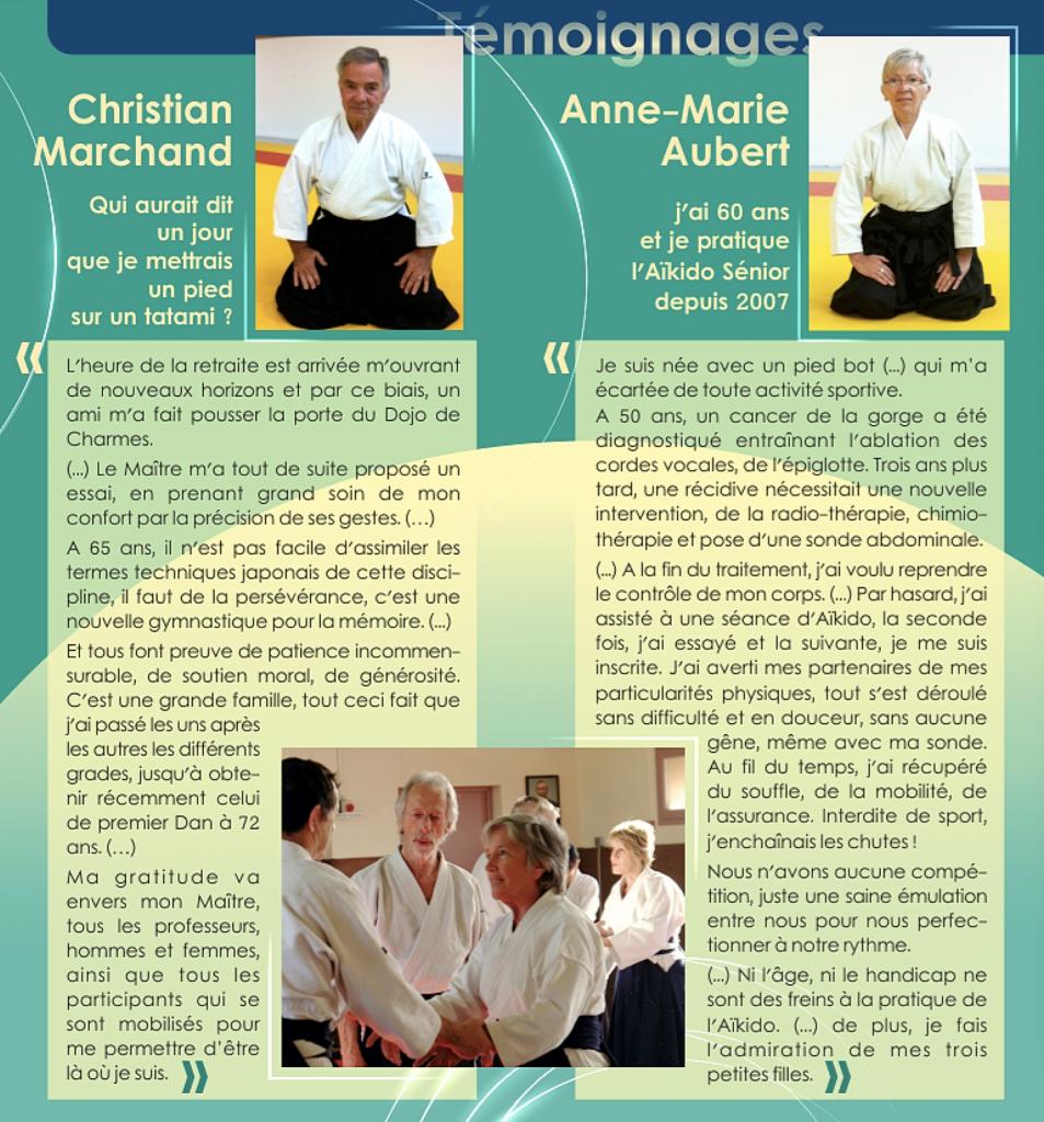 Aikido Club des Mazades, Cours séniors
