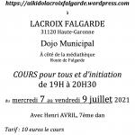 Cours d'Aïkido Lacroix Falgarde