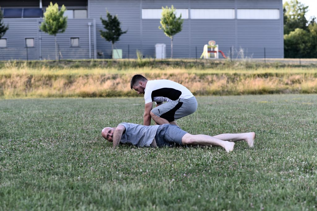 Aikido Horizons cours exterieur 4