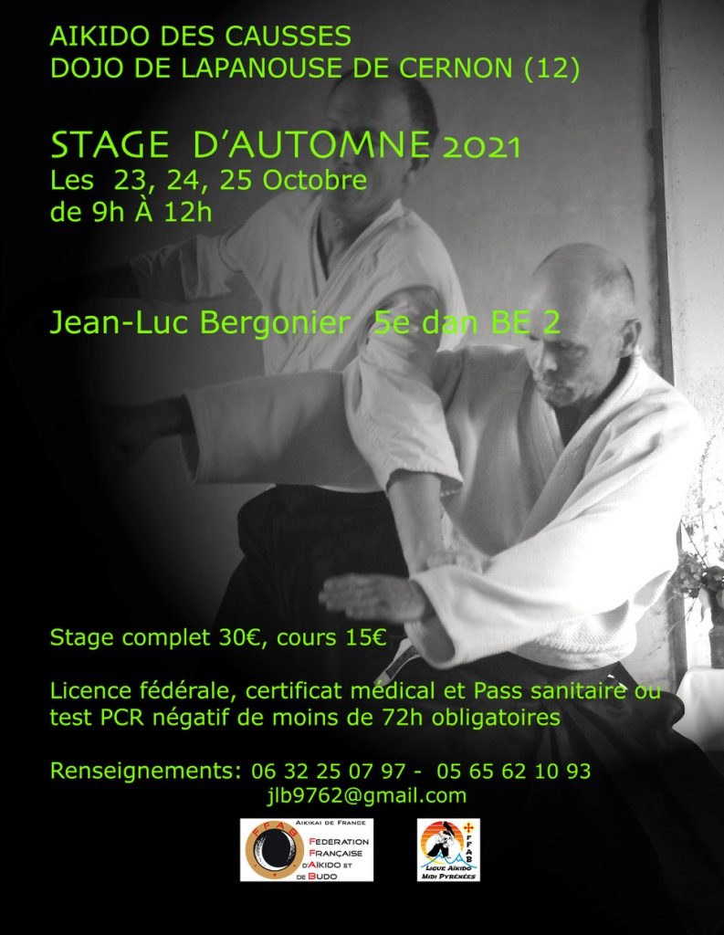 Stage d'Automne 2021
